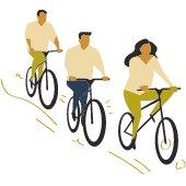 Shaker Bike Survey graphic