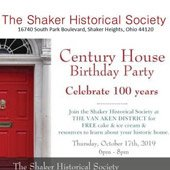 100-year birthday celebration for the Century House.