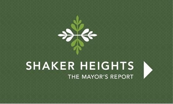 Mayor's Report green graphic