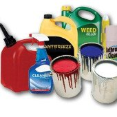 Hazardous household waste pickup