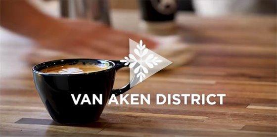 Video screen from Van Aken District video