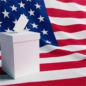 Ballot boxL Board of Elections Job Fair