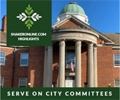 Shakeronline Highlights: Serve on a City Committee