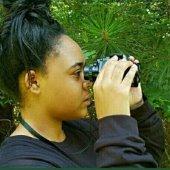 Birdwatcher Lauren Pharr