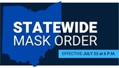 Statewide Mask Order Effective 7/23, 6pm
