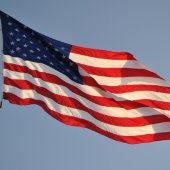 American Flag - Memorial Day observation