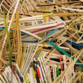 Paper shredding event graphic