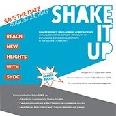 Shake It Up promotional flier
