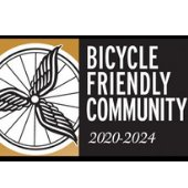Bicycle Friendly Community award graphic