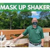 Mask Up Shaker Mayor graphic
