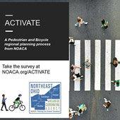 ACTIVATE Bike Survey graphic