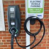 City Hall EV charging station