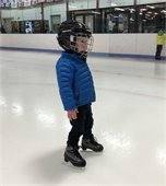 Youth Ice Skater