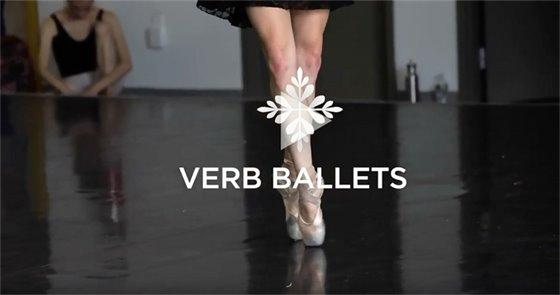 Verb Ballets vignette graphic