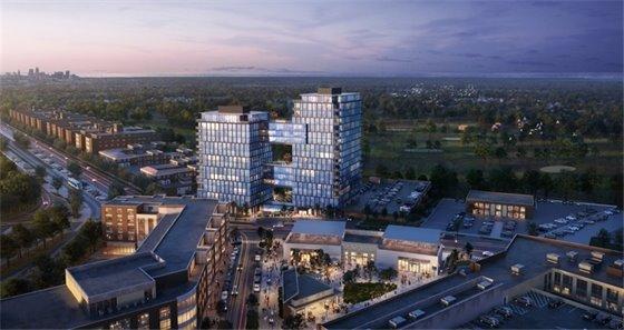 Proposed Van Aken District Residential Development