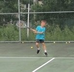 Youth Tennis Player