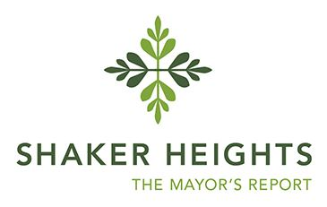 Mayor&#39s Report logo, City of Shaker Heights