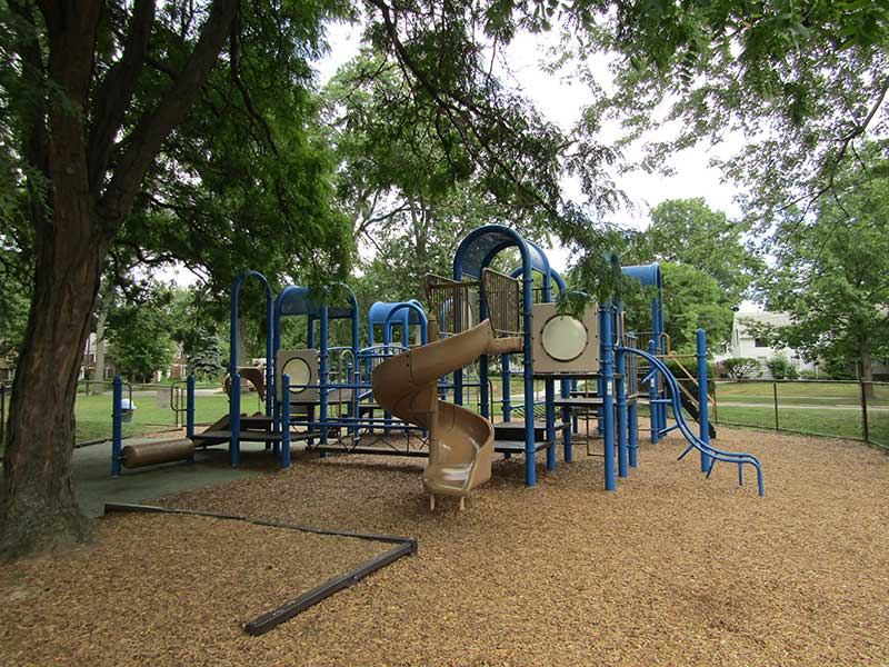 Playground at Sussex park