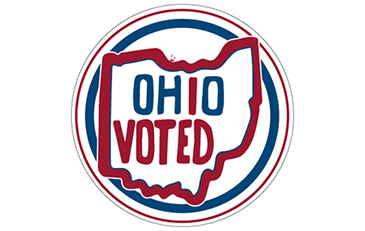 Ohio Voted sticker